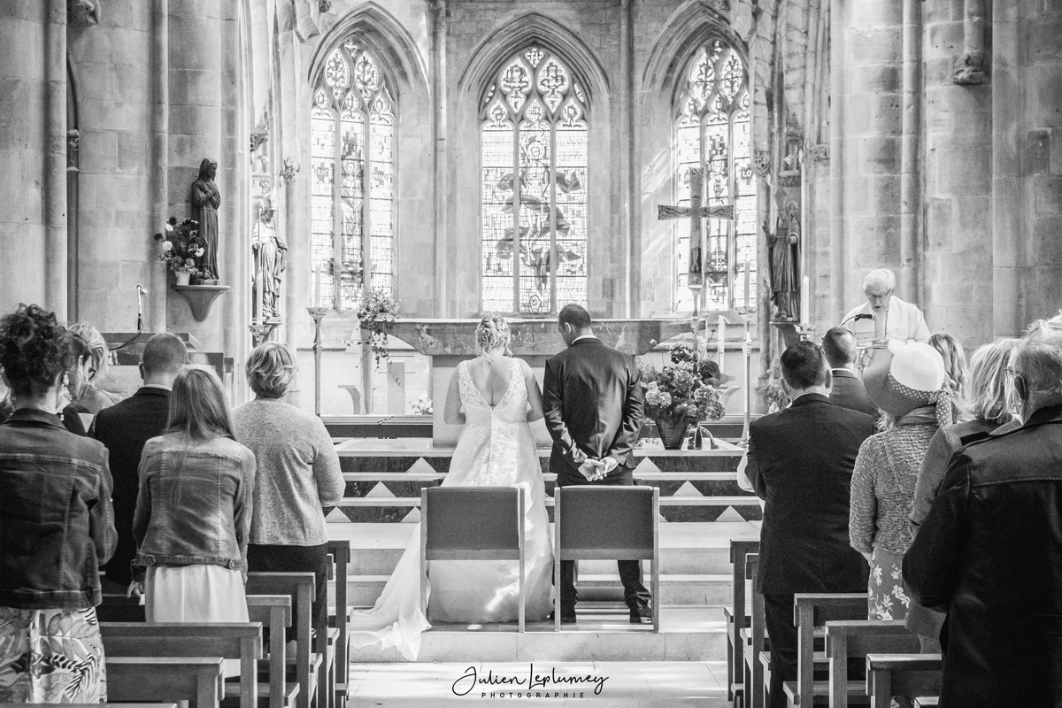 photographe mariage ceremonie eglise valognes