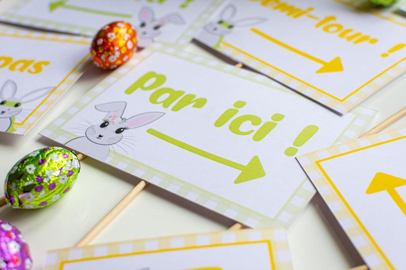 Plume Papeterie – Chasse aux œufs de Pâques